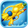 玩具水枪射击