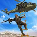 直升机空中狙击手