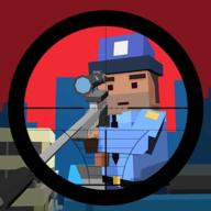方块警察狙击手