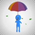 别掉了雨伞
