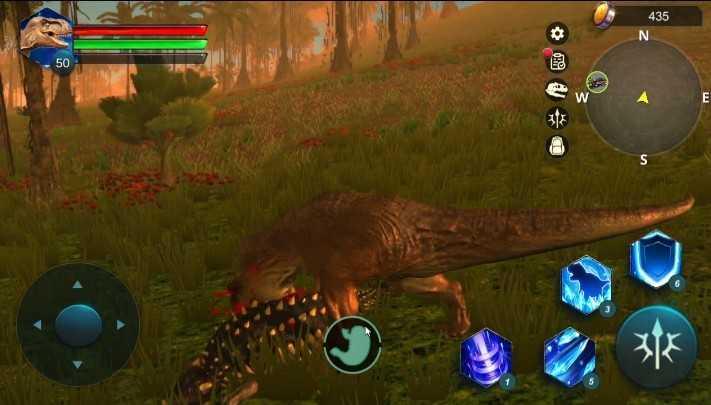 凶猛的恐龙模拟器